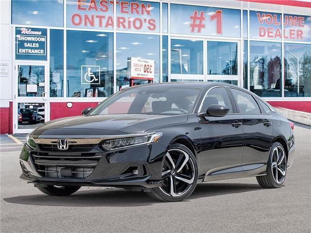 2021 Honda Accord Sport 2.0T (Stk: 348130) in Ottawa - Image 1 of 23