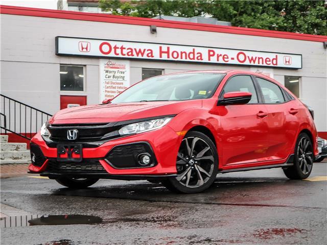2019 Honda Civic Sport (Stk: H91600) in Ottawa - Image 1 of 28