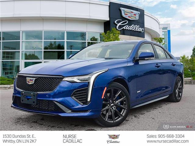 2020 Cadillac CT4 V-Series (Stk: 21K137A) in Whitby - Image 1 of 26