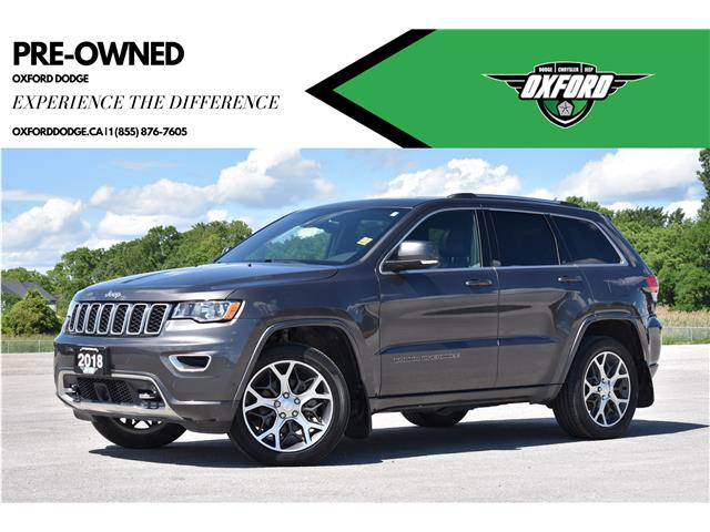 2018 Jeep Grand Cherokee Limited (Stk: 21434A) in London - Image 1 of 21