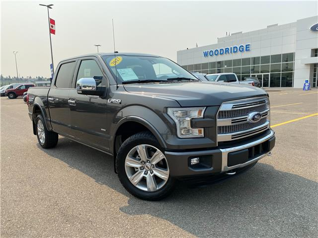 2017 Ford F-150 Platinum (Stk: M-1305A) in Calgary - Image 1 of 24