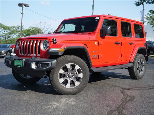 2018 Jeep Wrangler Unlimited Sahara (Stk: 1599) in Mississauga - Image 1 of 24