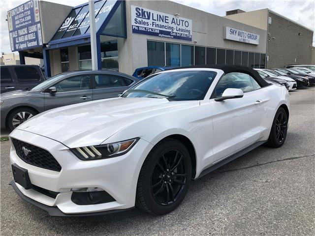2017 Ford Mustang EcoBoost Premium (Stk: ) in Concord - Image 1 of 17