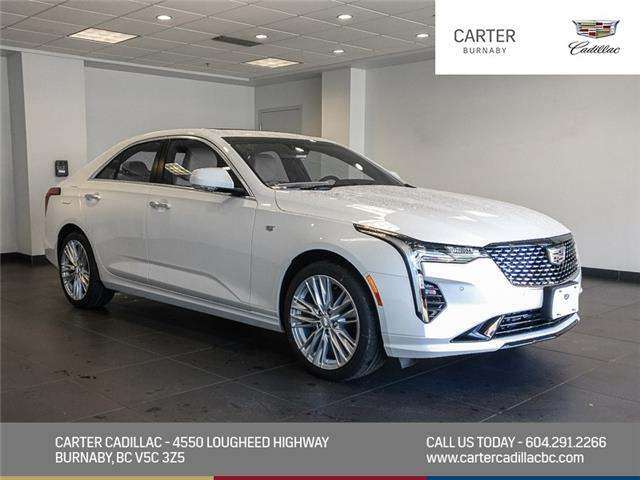 2020 Cadillac CT4 Premium Luxury (Stk: C0-58280) in Burnaby - Image 1 of 24