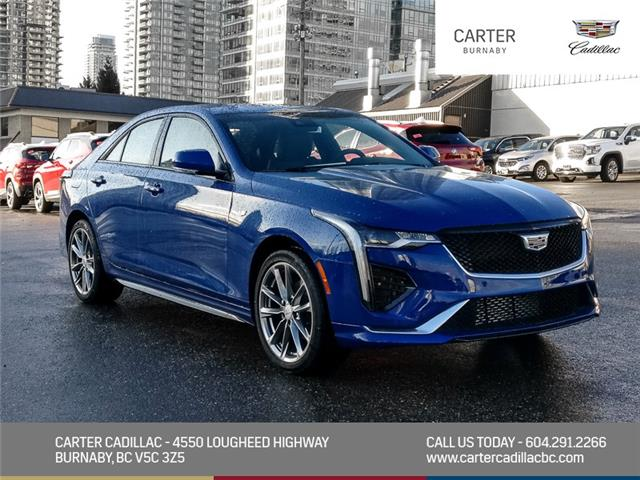 2021 Cadillac CT4 Sport (Stk: C1-35590) in Burnaby - Image 1 of 23