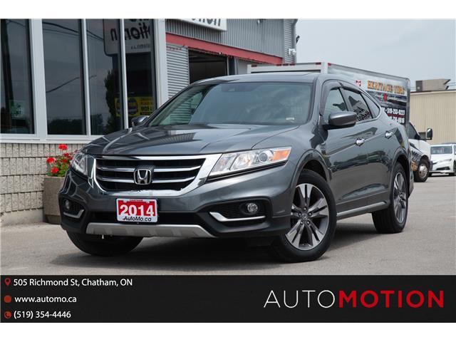 2014 Honda Crosstour EX-L (Stk: 211278) in Chatham - Image 1 of 27