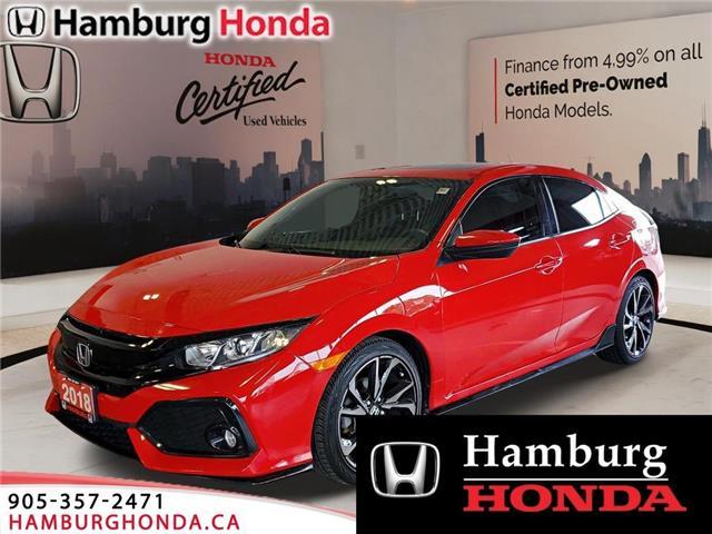 2018 Honda Civic Sport (Stk: T5998) in Niagara Falls - Image 1 of 17