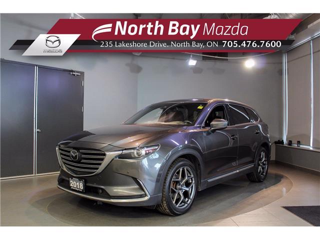 2018 Mazda CX-9 GT (Stk: 21166A) in North Bay - Image 1 of 30
