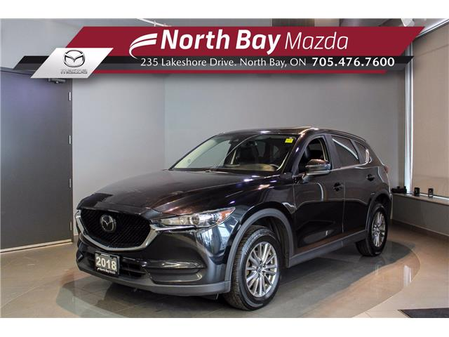2018 Mazda CX-5 GS (Stk: 21228A) in North Bay - Image 1 of 27