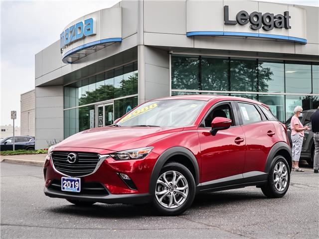 2019 Mazda CX-3 GS (Stk: 2576LT) in Burlington - Image 1 of 21