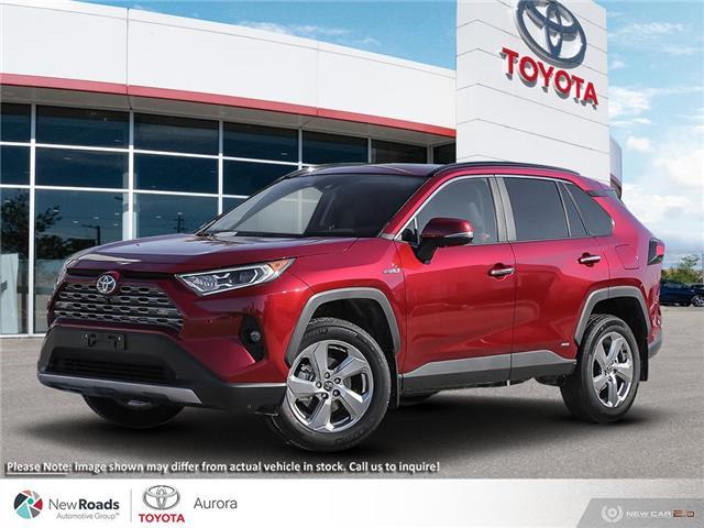 2021 Toyota RAV4 Hybrid Limited (Stk: 32753) in Aurora - Image 1 of 23