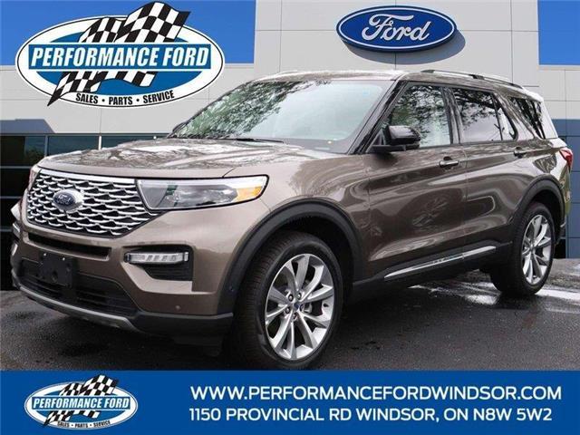 2021 Ford Explorer Platinum (Stk: EX62088) in Windsor - Image 1 of 15