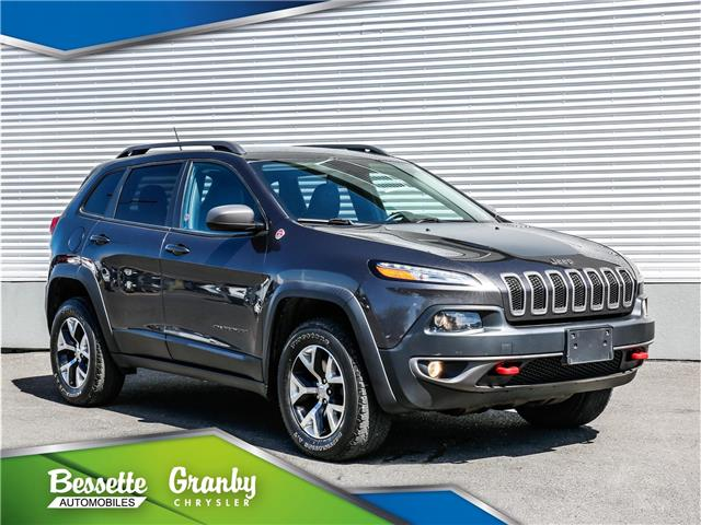 2015 Jeep Cherokee Trailhawk (Stk: G21-195) in Granby - Image 1 of 30