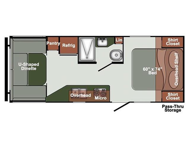 New 2022 Gulfstream ET22UDL   - Edmonton - Heartland Wholesale & RV