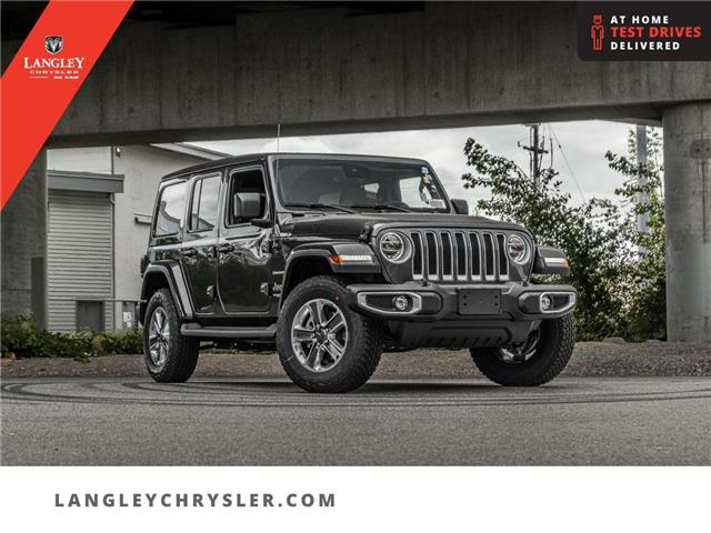 2021 Jeep Wrangler Unlimited Sahara (Stk: M620621) in Surrey - Image 1 of 24