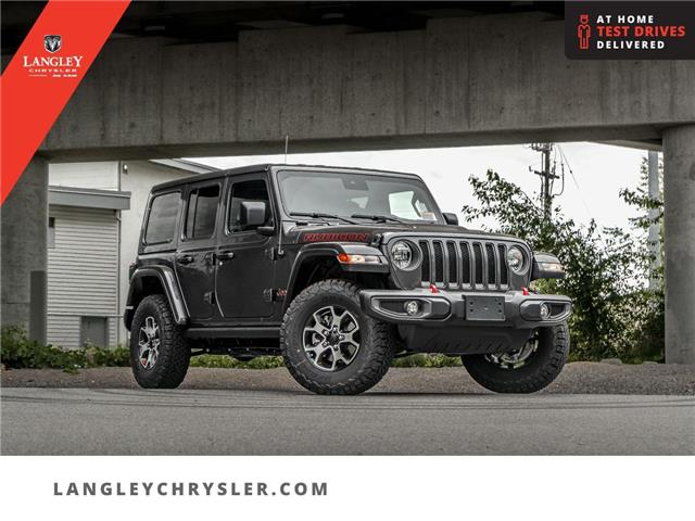 2021 Jeep Wrangler Unlimited Rubicon (Stk: M756042) in Surrey - Image 1 of 27