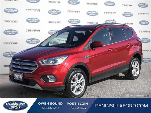 2018 Ford Escape SEL (Stk: 21ED17A) in Owen Sound - Image 1 of 25