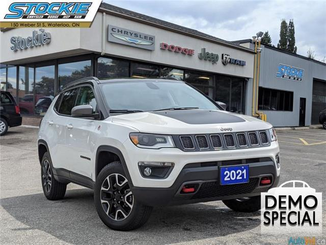 2021 Jeep Compass Trailhawk (Stk: 35019) in Waterloo - Image 1 of 16