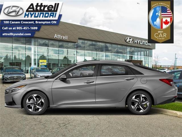 2021 Hyundai Elantra Ultimate IVT (Stk: 37593) in Brampton - Image 1 of 1