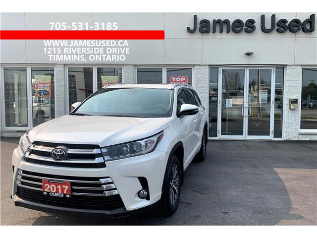 2017 Toyota Highlander XLE (Stk: N21406A) in Timmins - Image 1 of 14