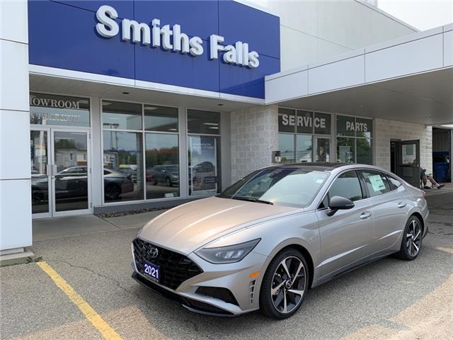 2021 Hyundai Sonata Sport (Stk: 10414) in Smiths Falls - Image 1 of 14