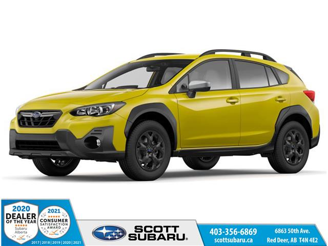 2021 Subaru Crosstrek Outdoor (Stk: 383185) in Red Deer - Image 1 of 11