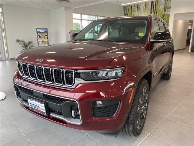 2021 Jeep Grand Cherokee L Overland (Stk: 21-218) in Ingersoll - Image 1 of 21