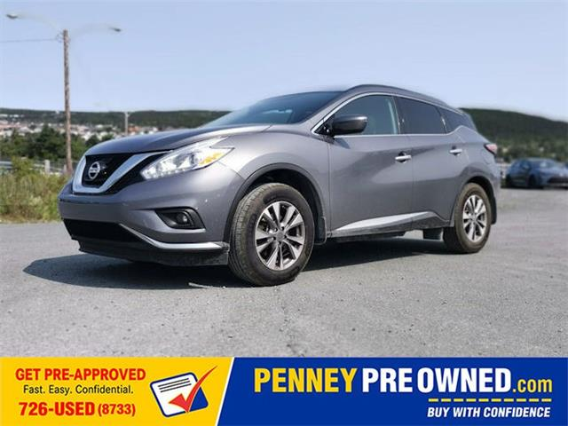 2017 Nissan Murano SV (Stk: 40587A) in Mount Pearl - Image 1 of 4