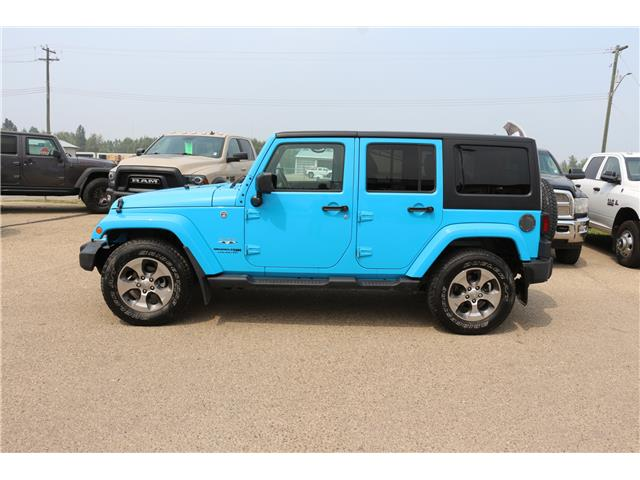 2018 Jeep Wrangler JK Unlimited Sahara (Stk: MP134) in Rocky Mountain House - Image 1 of 12