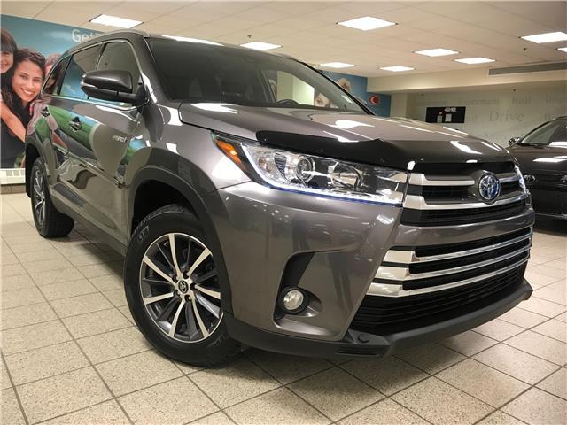 2019 Toyota Highlander Hybrid XLE (Stk: 211017A) in Calgary - Image 1 of 20
