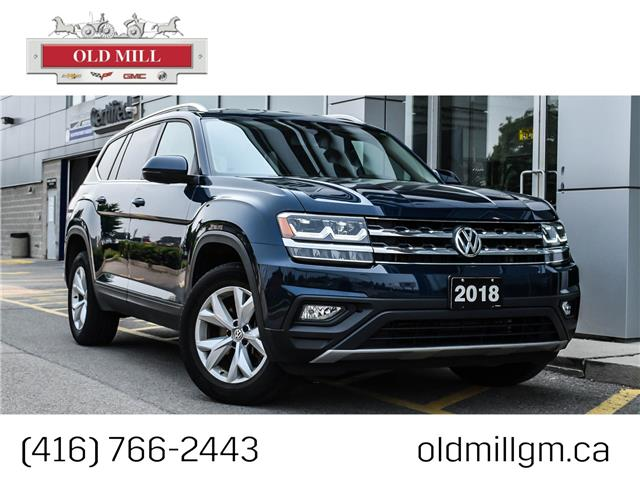 2018 Volkswagen Atlas 2.0 TSI Comfortline (Stk: 594691U) in Toronto - Image 1 of 24