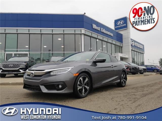 2018 Honda Civic Touring (Stk: 10636A) in Edmonton - Image 1 of 22