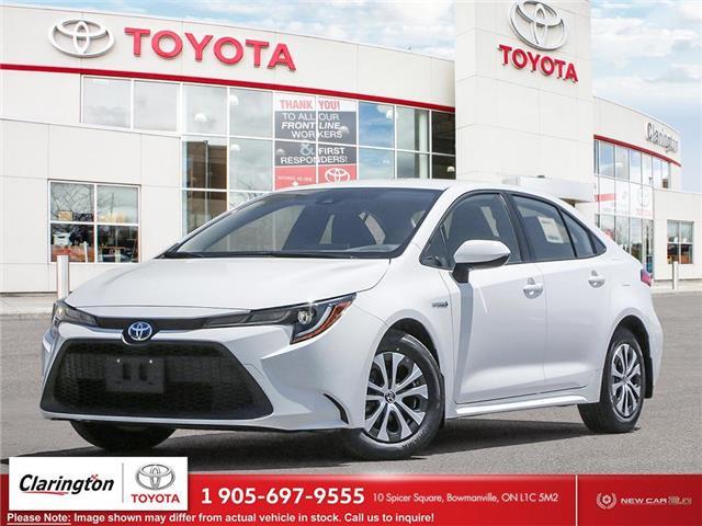 2021 Toyota Corolla Hybrid Base w/Li Battery (Stk: 21654) in Bowmanville - Image 1 of 23