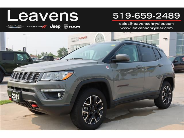 2019 Jeep Compass Trailhawk (Stk: LC21083A) in London - Image 1 of 25
