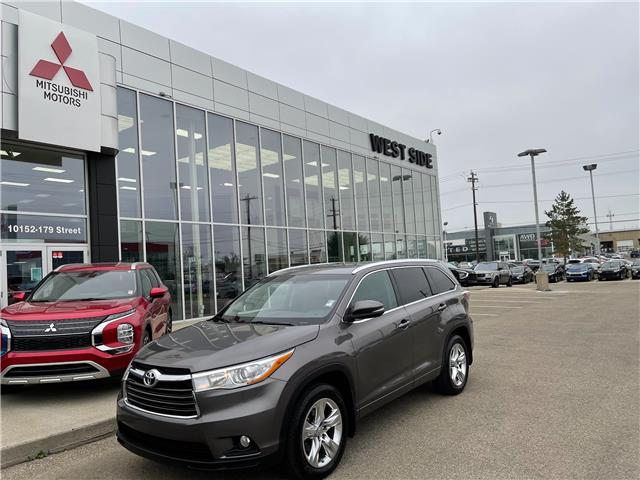 2015 Toyota Highlander Limited (Stk: 23108A) in Edmonton - Image 1 of 29