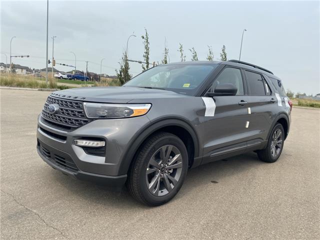 2021 Ford Explorer XLT (Stk: MEX060) in Fort Saskatchewan - Image 1 of 22