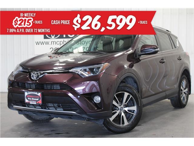 2016 Toyota RAV4 XLE (Stk: C220633A) in Winnipeg - Image 1 of 28