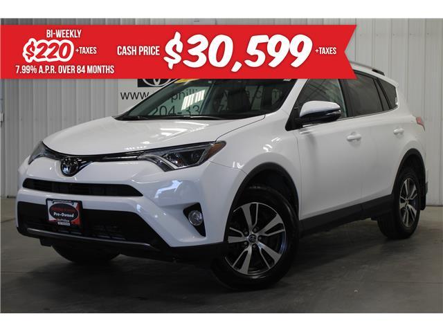 2018 Toyota RAV4 XLE (Stk: W192846A) in Winnipeg - Image 1 of 29
