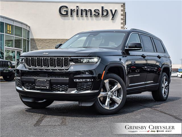 2021 Jeep Grand Cherokee L Limited (Stk: N21254) in Grimsby - Image 1 of 32