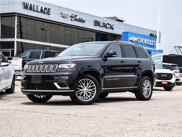 2018 Jeep Grand Cherokee Summit 4x4, POWER LIFT, REMOTE START, MOON ROOF (Stk: 371925A) in Milton - Image 1 of 27