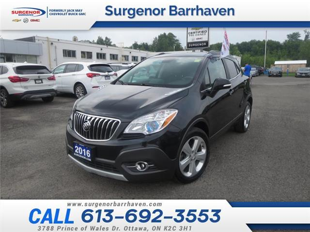 2016 Buick Encore Convenience (Stk: 210552A) in Ottawa - Image 1 of 27