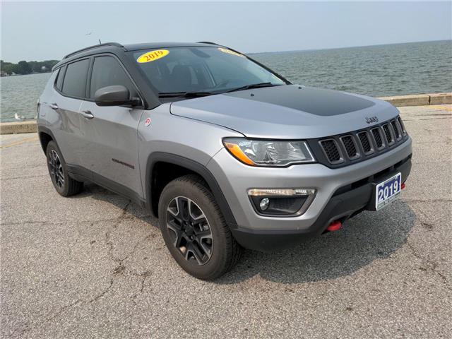 2019 Jeep Compass Trailhawk (Stk: D0400) in Belle River - Image 1 of 17