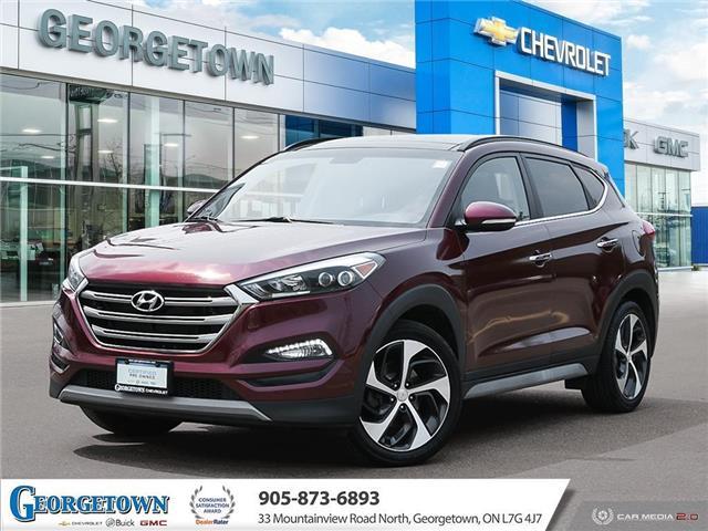 2017 Hyundai Tucson Limited (Stk: 33693) in Georgetown - Image 1 of 27