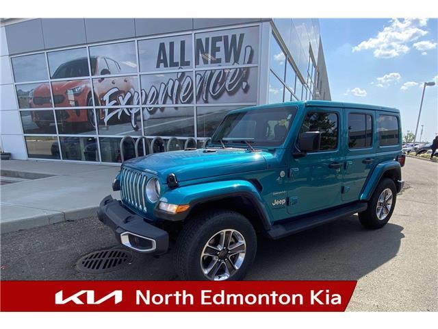 2020 Jeep Wrangler Unlimited Sahara (Stk: U278745) in Edmonton - Image 1 of 20