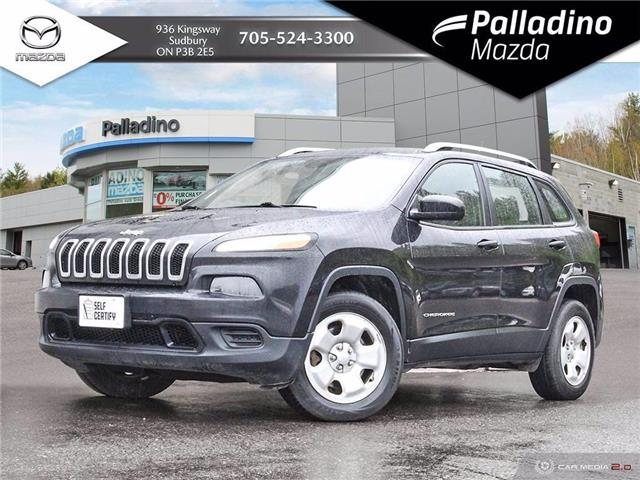 2016 Jeep Cherokee Sport (Stk: 8112A) in Greater Sudbury - Image 1 of 27