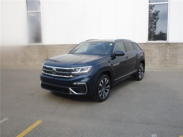 2021 Volkswagen Atlas Cross Sport 3.6 FSI Execline (Stk: 210341) in Regina - Image 1 of 47