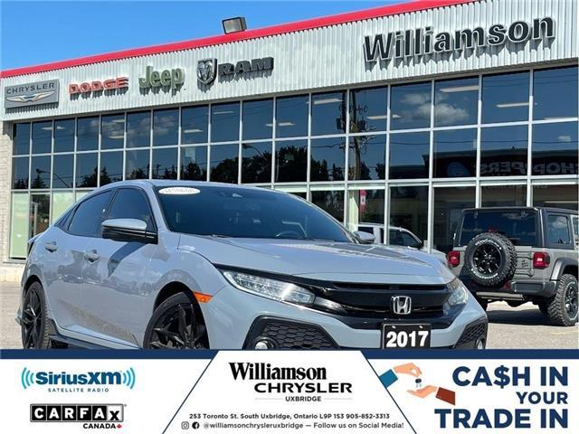 2017 Honda Civic Sport Touring (Stk: W6827) in Uxbridge - Image 1 of 22