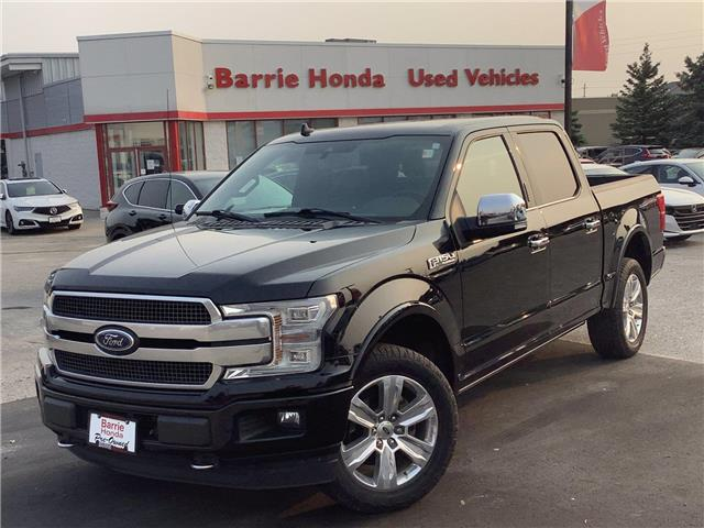 2018 Ford F-150 Lariat (Stk: 11-21750A) in Barrie - Image 1 of 23