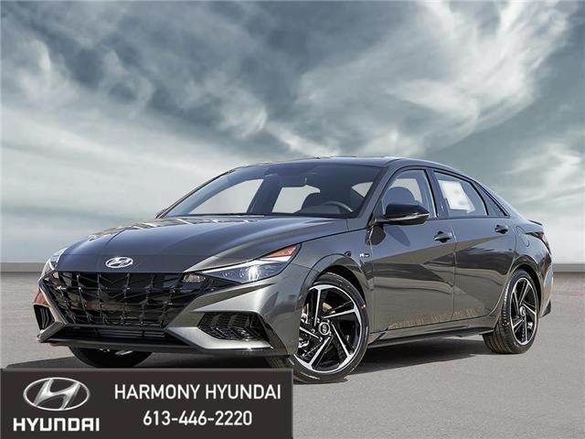 2021 Hyundai Elantra N Line (Stk: 21319) in Rockland - Image 1 of 23