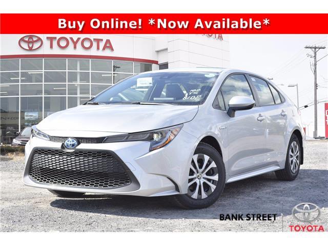 2021 Toyota Corolla Hybrid Base w/Li Battery (Stk: 19-29344) in Ottawa - Image 1 of 23